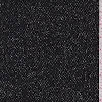 *2 5/8 YD PC--Black/White Boucle Jacketing