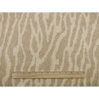 *2 YD PC--Designer Cotton Zebra Beige Print Home Decorating Fabric