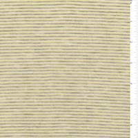 *2 YD PC--Lemon/Grey Pinstripe Sweater Knit