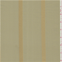 *3 YD PC--Gold Stripe Silk Taffeta