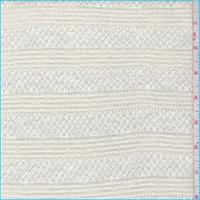 *1 3/8 YD PC--Buttercream Pointelle Stripe Sweater Knit