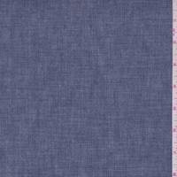 *1 1/4 YD PC--Country Blue Crosshatch Denim