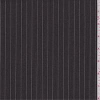 *2 5/8 YD PC--Pearl Brown Pinstripe Wool Blend Suiting