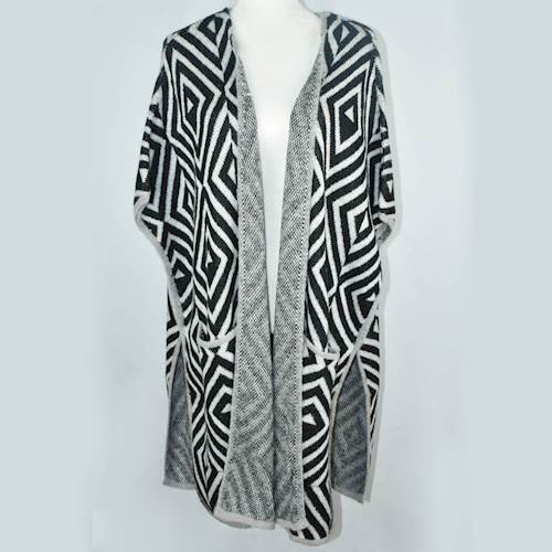 Black and White Cardigan XS