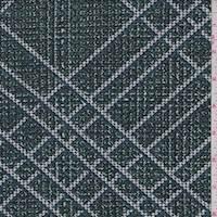 *2 YD PC--Jade Plaid Textured Liverpool Knit