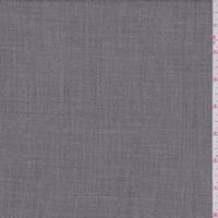 *2 3/4 YD PC--Grey Streaked Wool Blend Suiting
