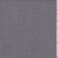 *1 1/4 YD PC--Grey Streaked Wool Blend Suiting