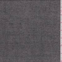 *1 3/4 YD PC--Heather Taupe Flannel Suiting