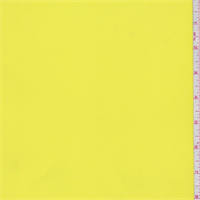 *4 YD PC--Bright Yellow Crepe de Chine