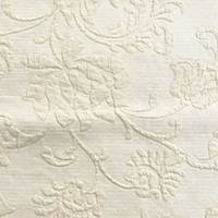 *1 3/8 YD PC--Sand Beige Floral Matelasse Home Decorating Fabric