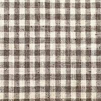 *1 1/2 YD PC--Beige/Brown Plaid Woven Home Decorating Fabric