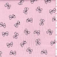 Pink Bow Cotton