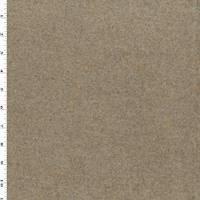 *7/8 YD PC--Beige/Gray Texture BoiledWool Coating