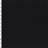 *1 1/2 YD PC--Black Boiled Wool Coating
