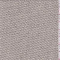*2 3/4 YD PC--Beige/Sage Basketweave Wool Jacketing