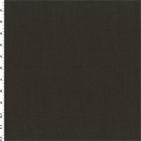 *3 YD PC--Coffee Brown Wool/Cotton Stretch Twill