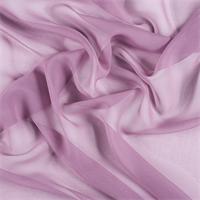 *1 YD PC--Mauve Silk Chiffon
