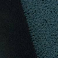 *1 YD PC--Peacock Green/Black Cross Hatch Jacquard Double Knit