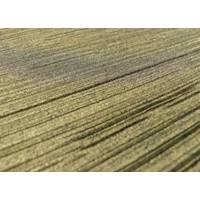 *3/4 YD PC--Metallic Gold Texture Print Pleat Knit