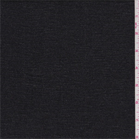 *1 3/8 YD PC--Black/Silver Sparkle Jersey Knit