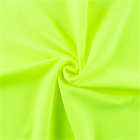 *2 3/4 YD PC--Neon Yellow Tricot Activewear