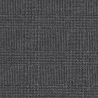*4 3/8 YD PC--Grey/Black Glenplaid Wool Suiting