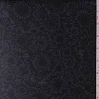 Black/Slate Aster Chiffon