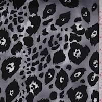 Granite Animal Print Sateen