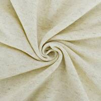 *1 1/2 YD PC--Natural Ivory Cotton/Linen Texture Terry Knit