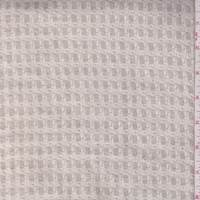 Ivory/Biscotti Woven Houndstooth Linen Blend