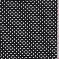 Black Dot Poplin