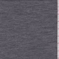 Heather Charcoal/Ivory Reversible Interlock Knit