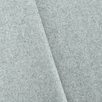 *2 5/8 YD PC--Fog Static Gray Texture Melton Wool Jacketing