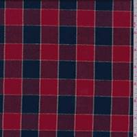 Red/Navy Check Flannel