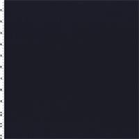 *3 1/8 YD PC--Midnight Black Wool Blend Gabardine