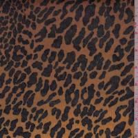 Camel/Rust Cheetah Stretch Twill