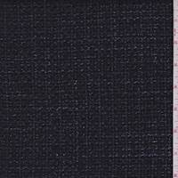 *2 1/4 YD PC--Iridescent Black Boucle Suiting