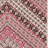 Beige/Pink Tile Peachskin