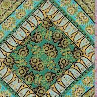 Jade/Olive Tile Peachskin