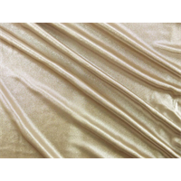 *3 1/4 YD PC--Beige Shimmer Interlock Lame
