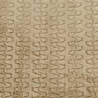 *1 YD PC--Soft Brown Swirl Stripe Faux Fur Knit