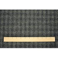 *3 YD PC--Black/Multi Wool Blend Textured Dobby Jacketing