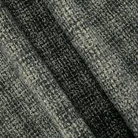 *1 1/2 YD PC--Black/Multi Wool Blend Textured Dobby Jacketing