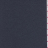 *2 1/4 YD PC--Gunmetal Blue Stretch Satin