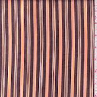 Walnut/Peach Stripe Lawn