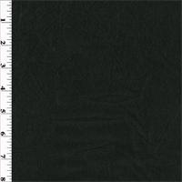 *5 YD PC--Sheer Black Textured Wool Voile