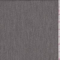 *1 YD PC--Heather Taupe Cotton Suiting