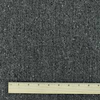 *5 1/2 YD PC--Gray/Black Wool Spots Texture Tweed Jacketing