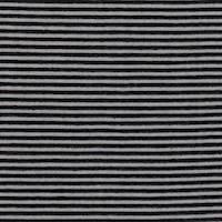 *5 YD PC--Black Striped Mesh