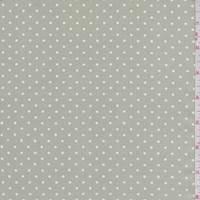*3/4 YD PC--Sage/White Dot Cotton